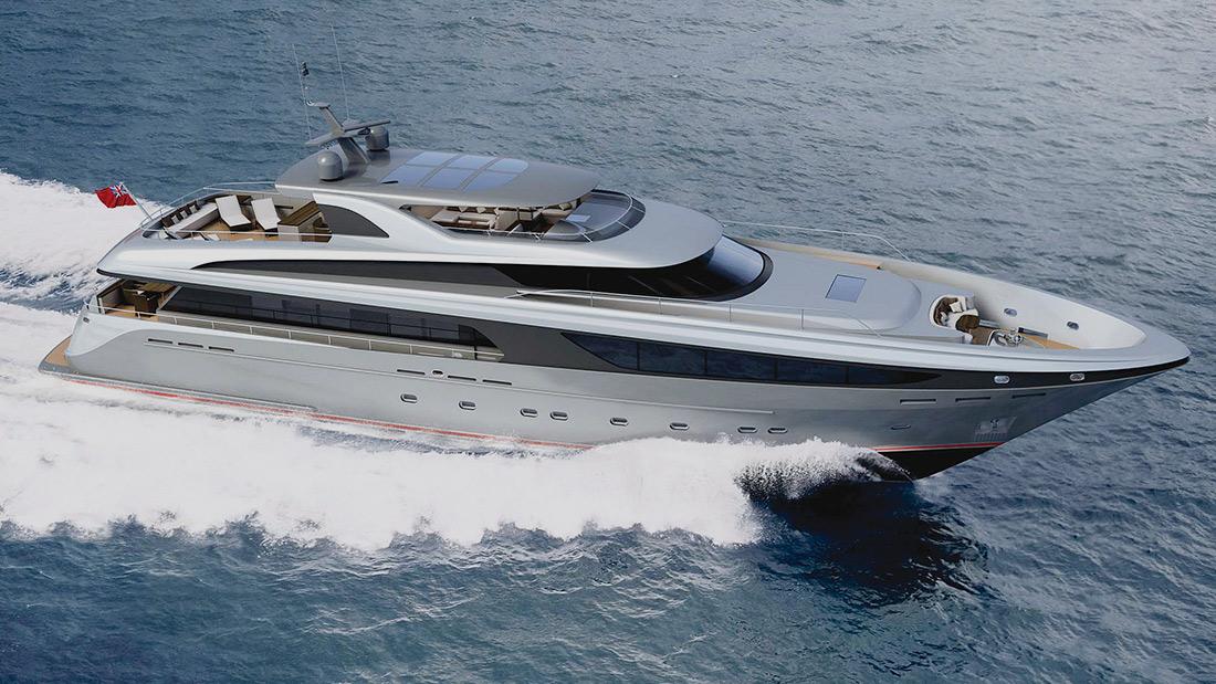 Jongert 3900 MY Motor Yacht Design Lucila-M