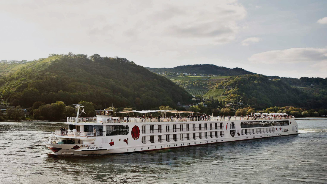 A-Rosa Brava River Cruise Vessel Design