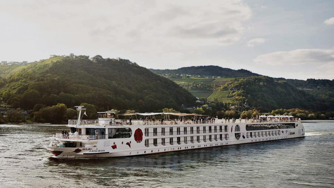A-Rosa Brava River Cruise Vessel Design