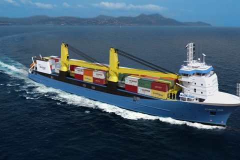 ATLANTIC DAWN GENERAL CARGO VESSEL ENGINEERING