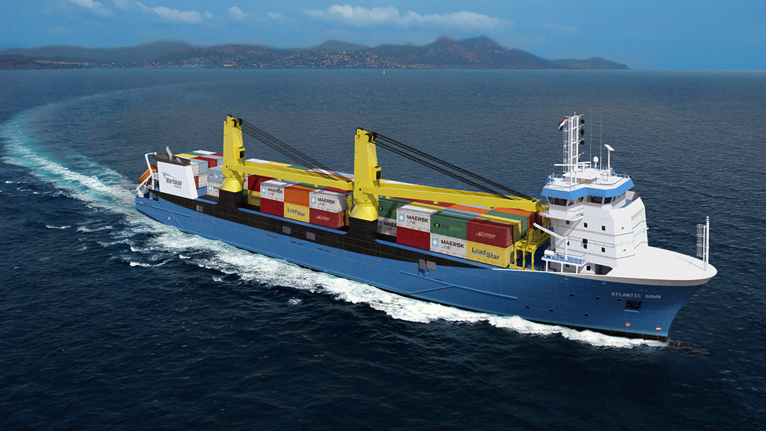 Atlantic Dawn General Cargo Vessel Offshore Engineering