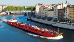 Duna 1 Car Transport Vessel engineering