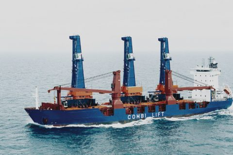 Pancaldo Heavy Lift Cargo Vessel