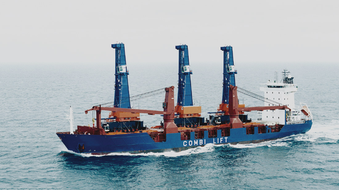 Pancaldo Heavy Lift Cargo Vessel Engineering