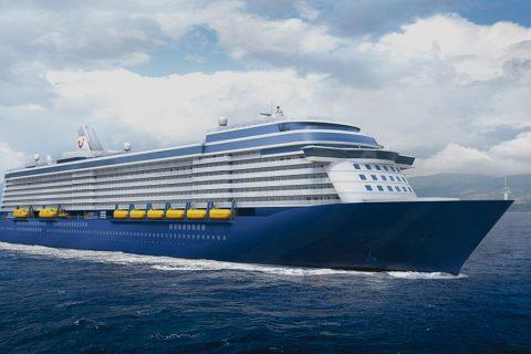 TUI Passenger Cruise Ship
