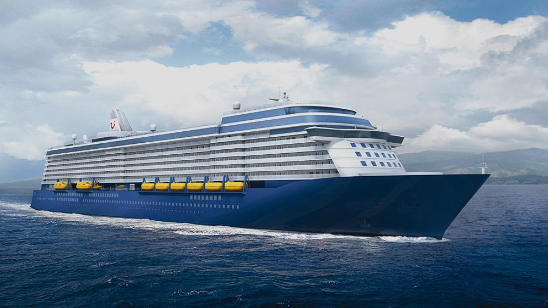 TUI Cruise Ship Passenger Cruise Vessel Engineering