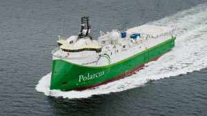 Seismic Research Vessel Polarcus Asima ULSTEIN SX134 engineering