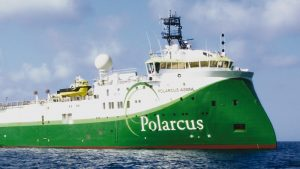 ULSTEIN SX134 Polarcus Asima Seismic Research Vessel