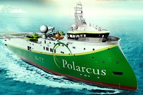 Ulstein SX134 Polarcus Asima Seismic Research Vessel