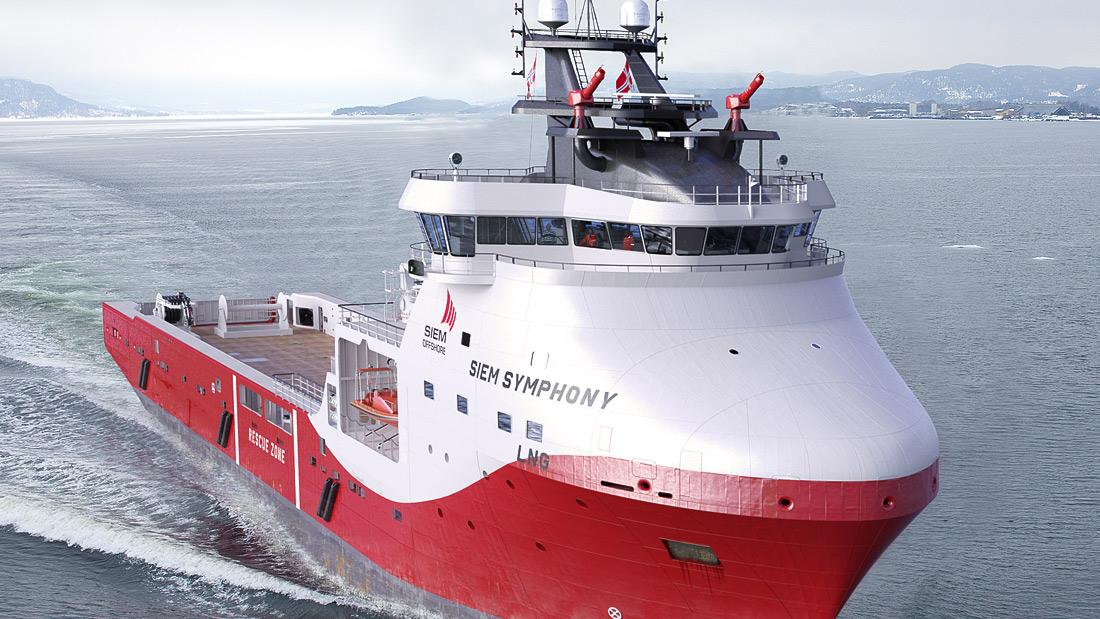 Ship Design WÄRTSILÄ VS4411 LNG POWERED PLATFORM SUPPLY VESSEL