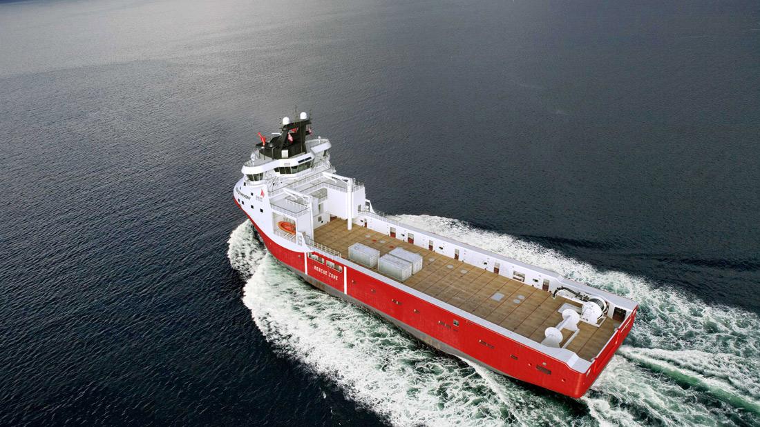 Ship Design WÄRTSILÄ VS4411 LNG POWERED PLATFORM SUPPLY VESSEL 4