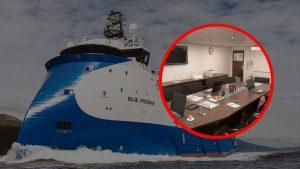 Ship interior design Vessel