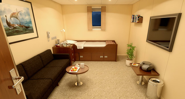 360 Pano VR Vessel Cabin Interior Design