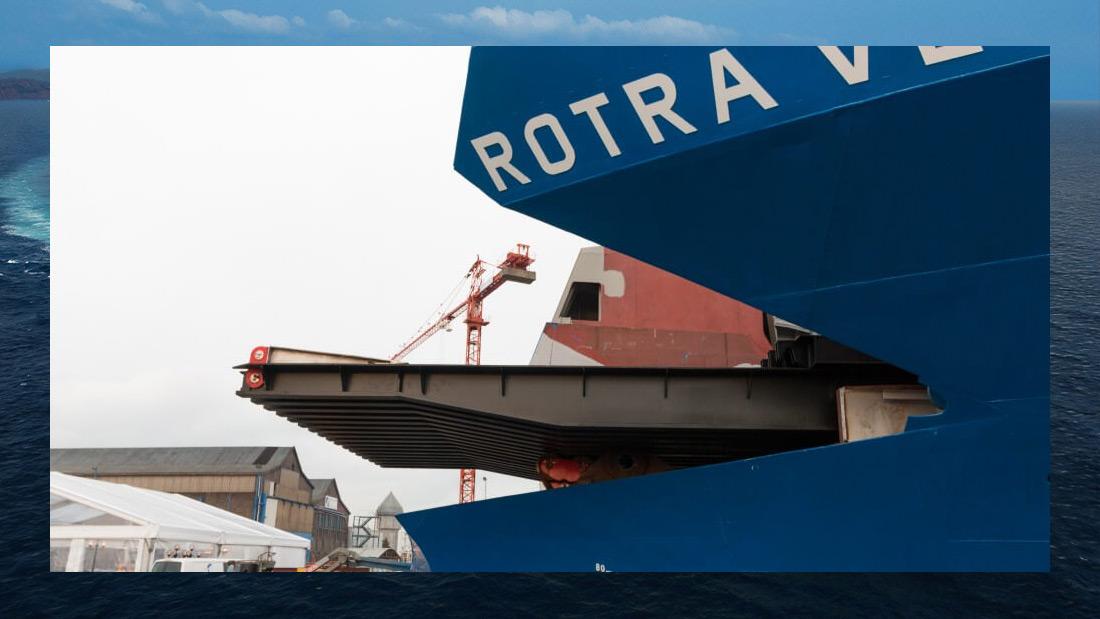 RoRo Vessel Rotra Vente The Concordia Group