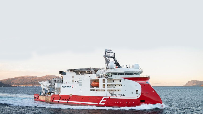 ULSTEIN SX148 Seven Viking Maintenance Vessel Subsea7