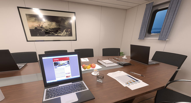 VR Vessel Meetingroom Interior Design