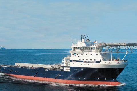 ULSTEIN M/V ISLAND PIONEER Multifunctional Platform Supply Vessel