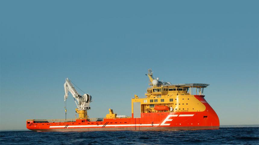 ULSTEIN SX121 MV Viking Poseidon Vessel