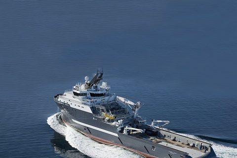 ULSTEIN SX134 Seismic Research Vessel