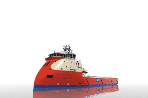 Ulstein PX105 Platform Supply Vessel