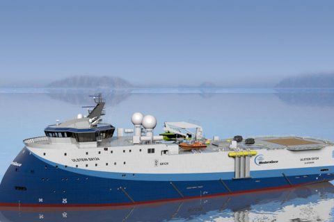 Ulstein SX124 Seismic Research Vessel / WG Columbus