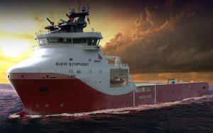 WARTSILA VS4411 LNG Powered Platform Supply Vessel