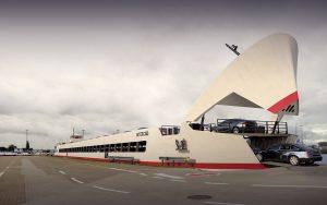 Concept RoRo Cartransport Vessel