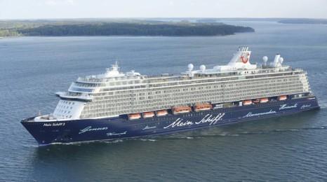 Mein Schiff 3 Cruise Vessel Design