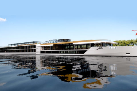 Luxury river cruise vessel Atilla