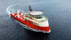 Ulstein SX165 OCV Subsea vessel Island Venture